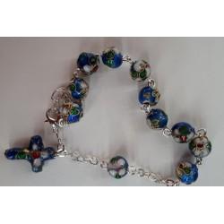Niebieska bransoletka...