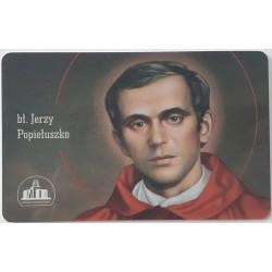 Karta z modlitwą - bł....