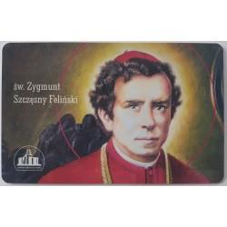 Karta z modlitwą - św....