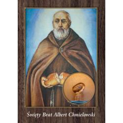 Pocztówka św. Brat Albert...